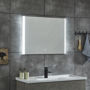 IP44 Kupferfreies Glas Led Kosmetikspiegel Moderne Vergrößerungsstile Backlit Mirror